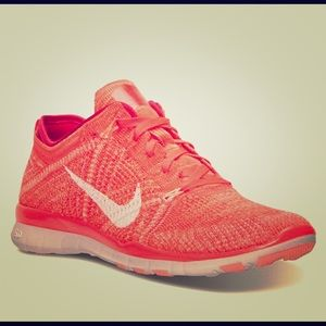 Nike Free TR Flyknit 5.0 Orange/Red